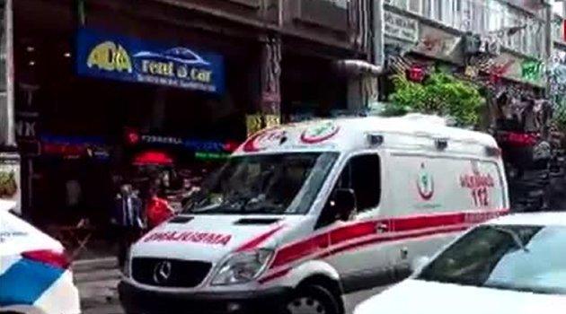 Bakırköy'de rehine krizi!..