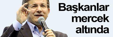 Başbakan Ahmet Davutoğlu: Eş-iş-ev değiştirenden şüphe ederim...