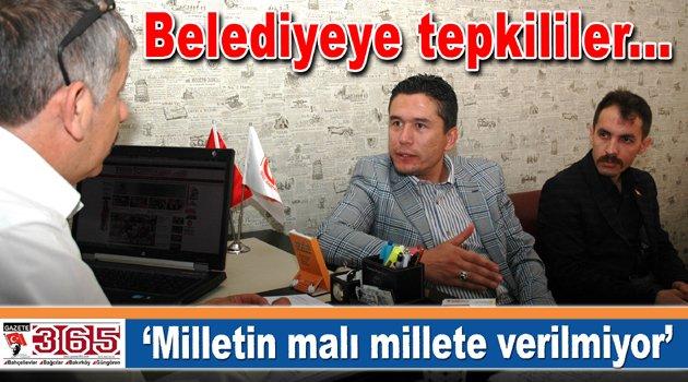 Başkan Akgül: Belediye yağmurlu havada su vermiyor