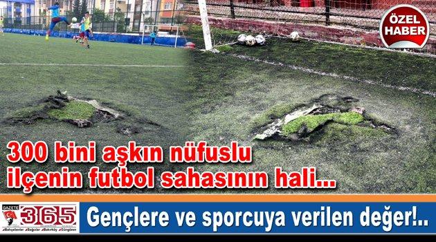 Güngören Belediyesi Güneştepe Sahası'nın durumu