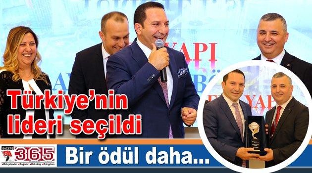İş adamı Özkan Ercan'a bir ödül daha…