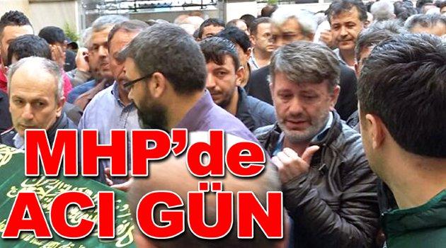 MHP ilçe başkan yardımcısının babası vefat etti