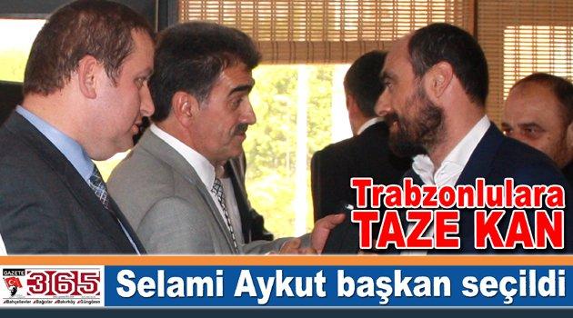 Selami Aykut Bahçelievler Trabzonlular Derneği'ne başkan seçildi