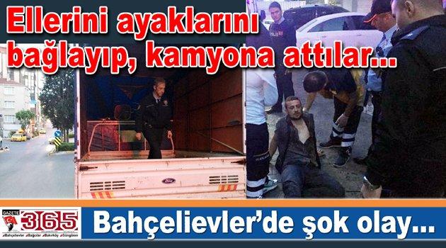 Şok olay: Bahçelievler'de adam kaçırma iddiası…