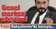 CHP Milletvekili Eren Erdem'den Bahçelievler İlçe Örgütü'nde önemli açıklamalar…