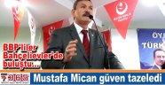 BBP İstanbul'da Başkan Mustafa Mican güven tazeledi...