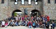 Projeleriyle Almanya'ya gittiler, Kız Kulesi'ni anlattılar