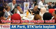 AK Parti Bahçelievler STK'larla iftar yemeğinde buluştu