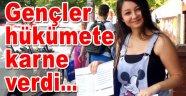 CHP Bahçelievler gençliği, hükümeti sınıfta bıraktı...
