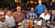 Hakan Bahadır dostlarıyla iftar yaptı