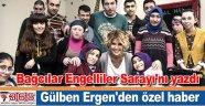 Gülben Ergen, Bağcılar Engelliler Sarayı'nı yazdı
