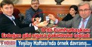Hakan Bahadır yerel medya patronlarına sigarayı bıraktırdı