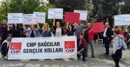 CHP Bağcılar Gençlik Örgütü 'Barış Nöbeti'ndeydi...