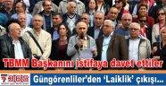 Güngören'deki siyasi partiler ve STK'lardan 'Laiklik' eylemi…