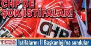 CHP Bahçelievler İlçe Örgütü'nde 13 istifa…