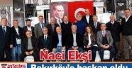Naci Ekşi Bakırköy'ün başkanı oldu