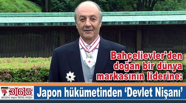 Tuncay Özilhan, Japon Hükümeti tarafından Devlet Nişanı ile onurlandırıldı