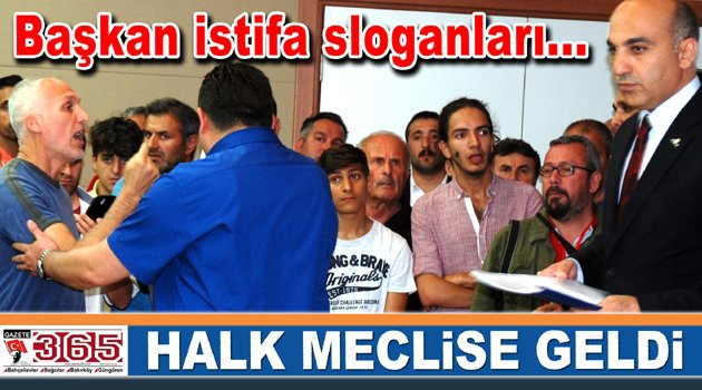 Yaşam Köyü'nün Beşiktaş'a verilmesi onaylandı, mecliste olaylar çıktı