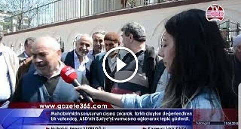 ABD'nin Suriye'yi vurmasına ağlayarak tepki veren dayı (ABD, İsrail, Suriye, Atatürk, Kur-an...