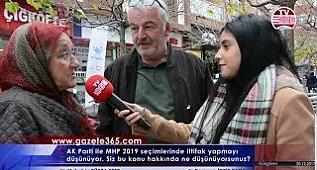 AK Parti ile MHP 2019 seçimlerinde ittifak yapmayı düşünüyor. Bu konu hakkında ne düşünüyorsunuz?