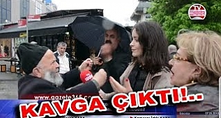 AK Parti'yi çılgınca savunan amca: 155'i ararım 15 Temmuz hainleri...