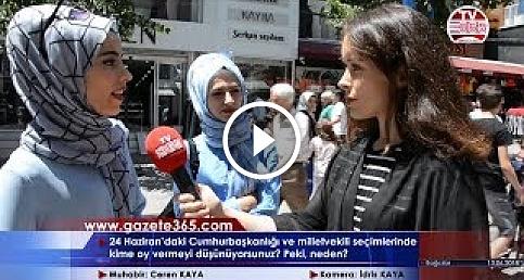 Bağcılar'da sorduk: 24 Haziran'da kime oy vereceksiniz? (Erdoğan, İnce, Demirtaş, Karamollaoğlu...