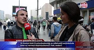 Bahçelievler'de sorduk: 24 Haziran'da kime oy vereceksiniz? (Erdoğan, Muharrem İnce, Akşener, HDP...