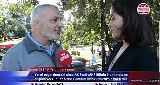 Bahçelievler'de sorduk: AK Parti- MHP ittifakı hakkında ne düşünüyorsunuz?