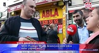 Bakırköy'de sorduk: Milli Piyango büyük ikramiyesi size çıksa neler yapardınız?