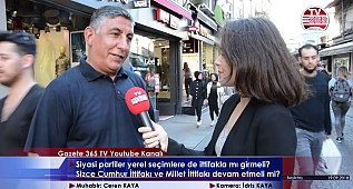 Beşiktaş'ta sorduk: Yerel seçimlerde ittifak olmalı mı? Cumhur ittifakı? Millet ittifakı?