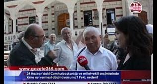 Beykoz'da halk 24 Haziran için ne dedi? (Erdoğan, İnce, Akşener, Demirtaş, Karamo...