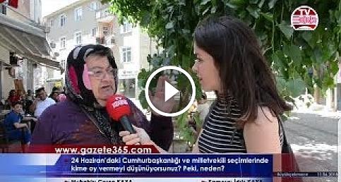 Büyükçekmece'de vatandaş 24 Haziran için ne dedi? (Erdoğan, İnce, Akşener, Demirtaş,Perinçek..