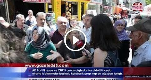 Ceren Kaya sordu, 30 kişi birbirine girdi: AK Partili ve CHPliler arasında büyük tartışma...