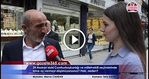 Eyüp'te halk Cumhurbaşkanlığı seçimi için ne dedi?(Erdoğan, İnce, Akşener, Karamollaoğlu, Demirtaş..