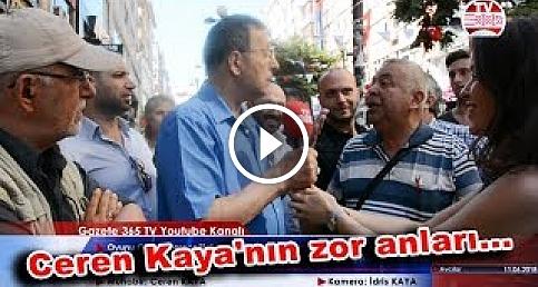 Gazete 365 TV ekibi yine AK Parti ve CHP'liler arasında kaldı: Kalabalığın arasına daldı...