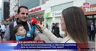 Şişli'de sorduk: 24 Haziran'da kime oy vereceksiniz? (Erdoğan, İnce, Akşener, Demirtaş, Karamol...