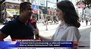 Ümraniye'de vatandaş 24 Haziran için ne dedi? (Erdoğan, İnce, Akşener, Karamollaoğlu, Perinçek...