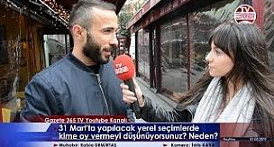 Beşiktaş'ta sorduk: Yerel seçimlerde kime oy vermeyi düşünüyorsunuz?
