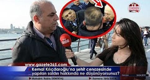 Kılıçdaroğlu'na şehit cenazesinde yapılan saldırı için halk ne diyor?